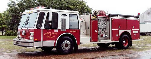 Fire Pumper Vehicle Spotlight