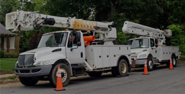 The Battle of the Light Duty Bucket Truck   Utilimarc Blog