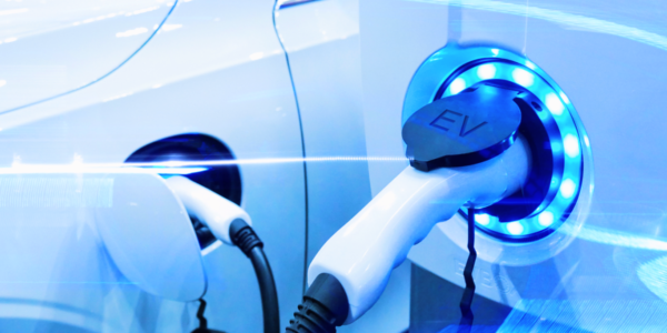 Utilimarc - How to Understand the ROI of Your Electric Vehicle Image is of a plug in electric vehicle